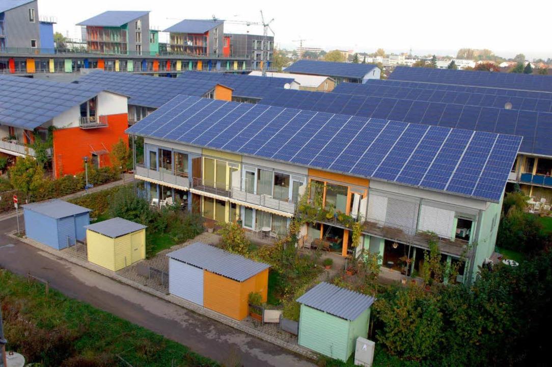 Das Vaubanb ist und bleint die Grünen-...besserte sich – auf 5,2 Prozent.  | Foto: dpa