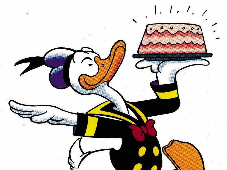 Alles Gute Zum Geburtstag Donald Neues Für Kinder Badische Zeitung