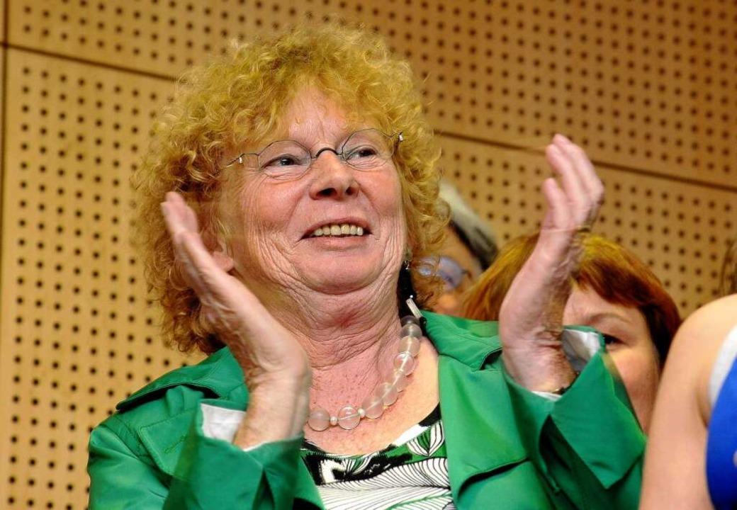 Auf Platz 2 und Vizestimmenkönigin: Margot Queitsch von der SPD.  | Foto: Thomas Kunz
