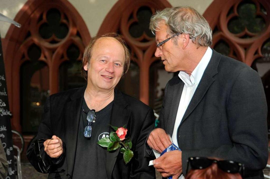 Wiedergewählt: Atai Keller von der Kulturliste (links).  | Foto: Rita Eggstein