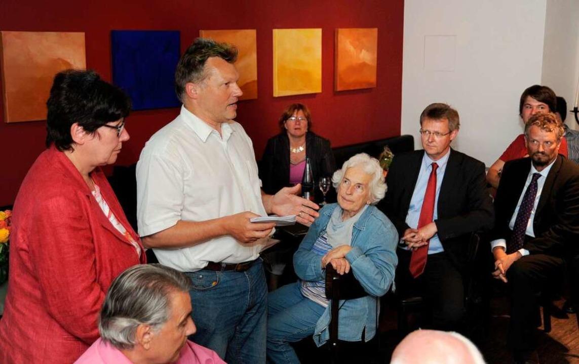 Die SPD hat zugelegt, hatte aber auf mehr Sitze gehofft.  | Foto: Rita Eggstein