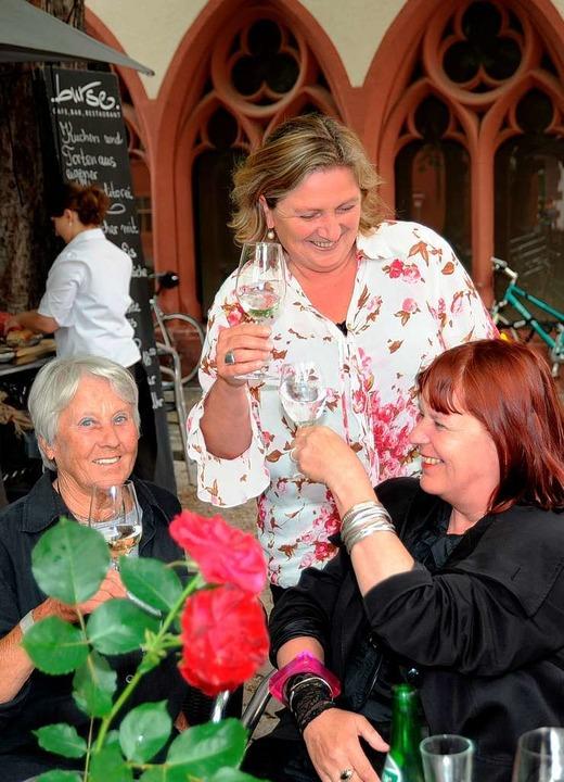 Sympathieträgerin: Irene Vogel vertrit...ie Unabhängigen Frauen im Gemeinderat.  | Foto: Rita Eggstein