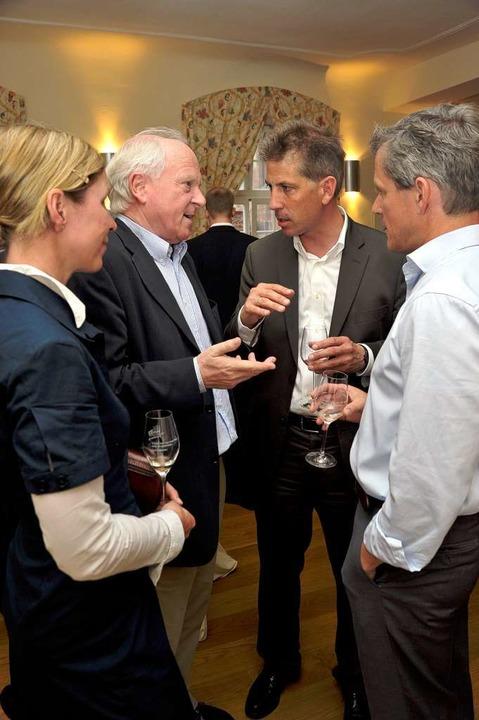 Viel zu diskutieren gab es auch bei der CDU in der Alten Wache.  | Foto: Thomas Kunz