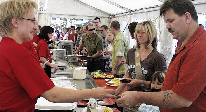 Reichhaltig ist das  kulinarische Angebot, <ppp></ppp>    Foto: Markus Maier