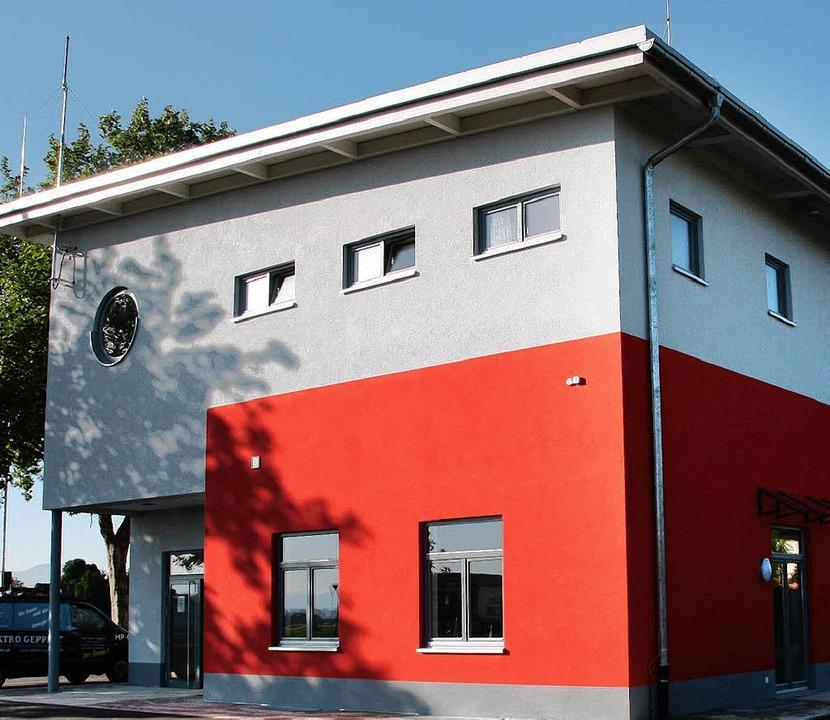 Das neue Feuerwehrgerätehaus in Breisa... diesen Jahres fertig getsellt werden.    Foto: Christine Aniol