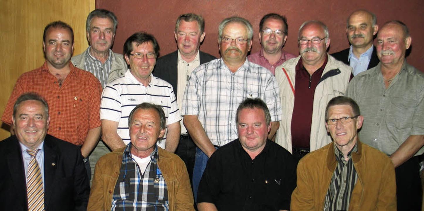 <Bildtext>Zahlreiche Mitglieder des  S...rige Mitgliedschaft geehrt</Bildtext>.  | Foto: Hassler
