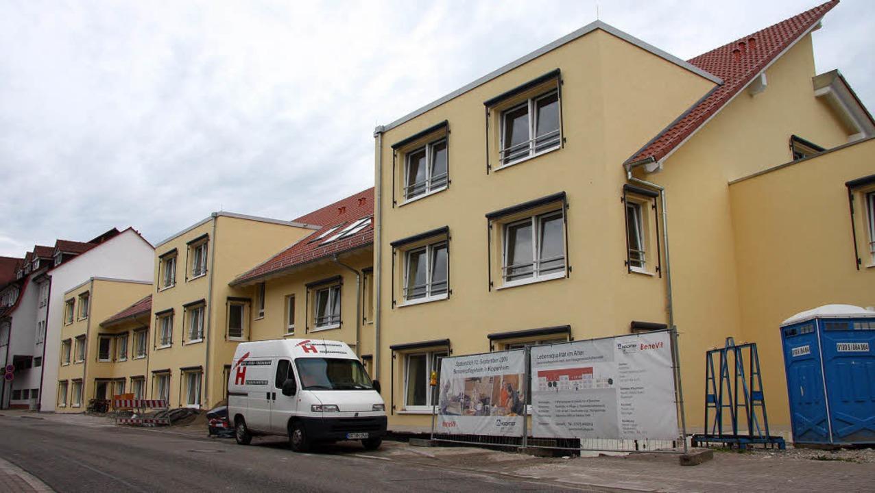 Das neue Seniorenzentrum in der Kippenheimer Bahnhofstraße nimmt Gestalt an.  | Foto: DEcoux-KOne
