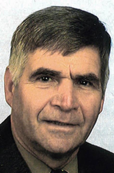 Hans-Peter Metzger CDU    Foto: privat