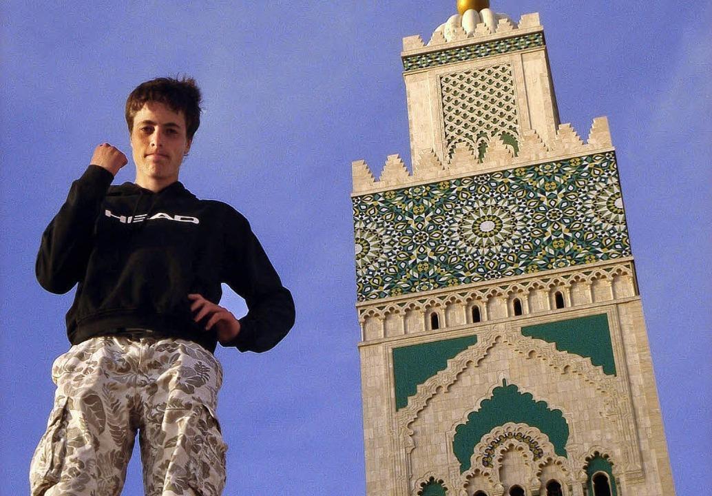 Selbstbewusstes Auftreten in Marokko: ...nier in Casablanca für das Hauptfeld.   | Foto: UmS