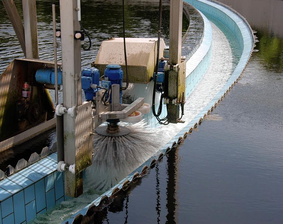 So sauber soll auch das Abwasser aus d...elangt, darüber wird noch gestritten.   | Foto: Silke Kohlmann