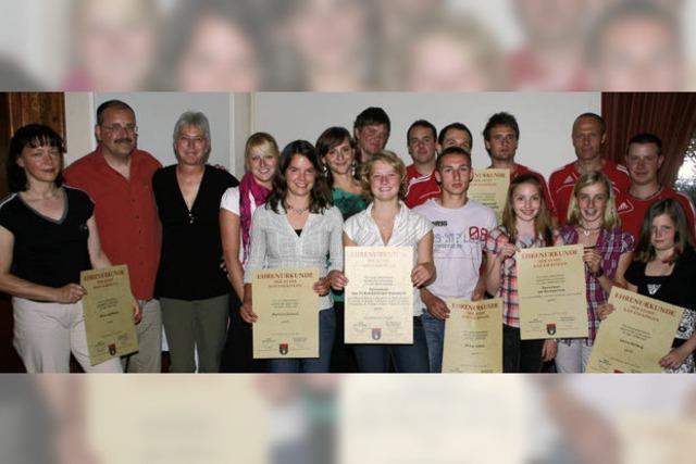 Ullmann, Morath und der FC Wallbach