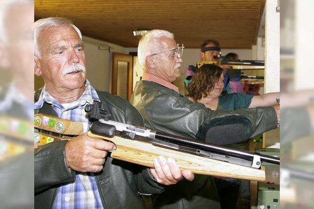 Schützen veranstalten eine Sportwoche