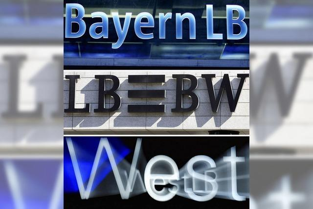 Landesbanken sollen schrumpfen