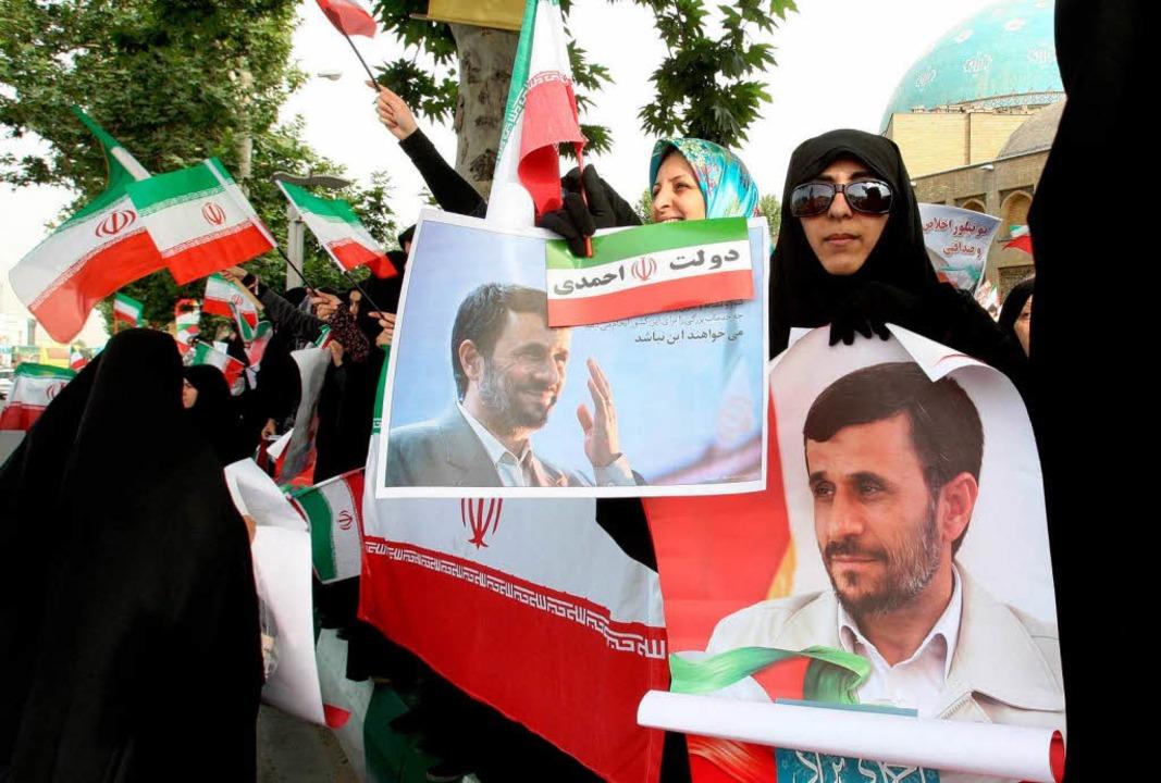 Iraner wählen neuen Präsidenten.  | Foto: dpa
