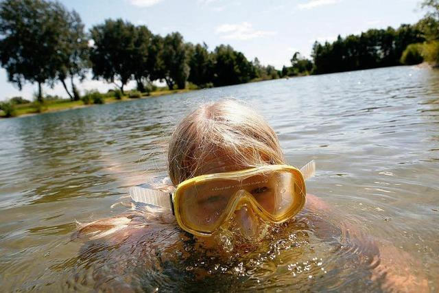 Ungetrübter Badespaß in Südbaden