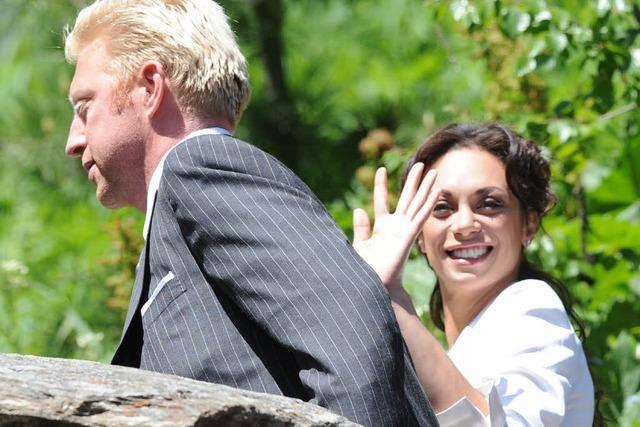 Boris Becker und Lilly Kerssenberg trauen sich