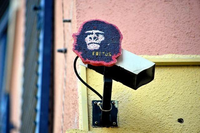 Im Auge: Versteckte Kameras in Freiburg