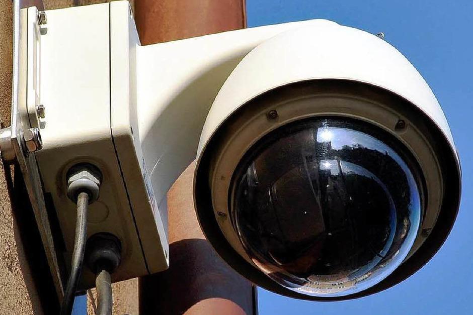 Videoüberwachung in der Freiburger Innenstadt (Foto: Thomas Kunz)