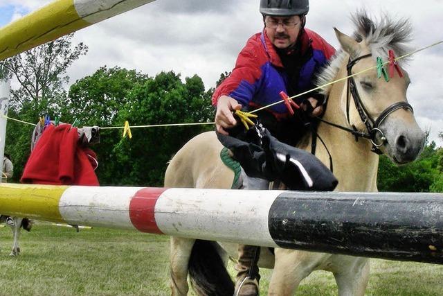 Rallyespaß für Pferde und Reiter