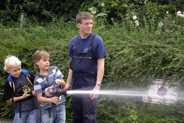 Viel Spaß mit hohem Lernfaktor bei der Feuerwehr