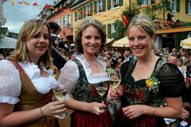 Festliche Eröffnung der Ihringer Weintage