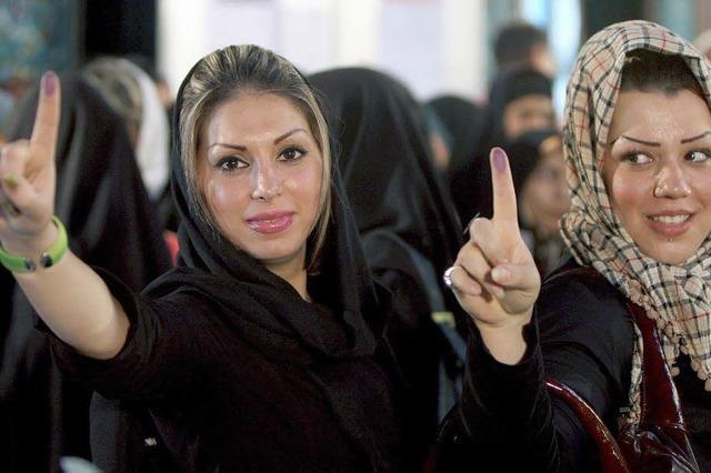 Viele Iraner fürchten Betrug