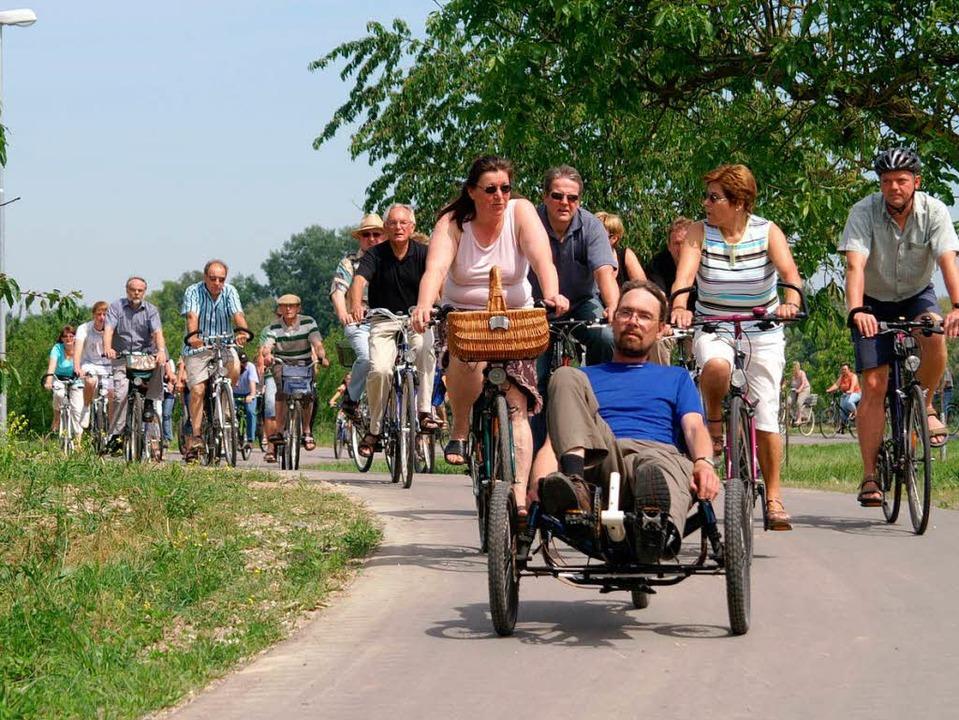 Freie Fahrt auf neuem Radweg.    Foto: Ilona Hüge