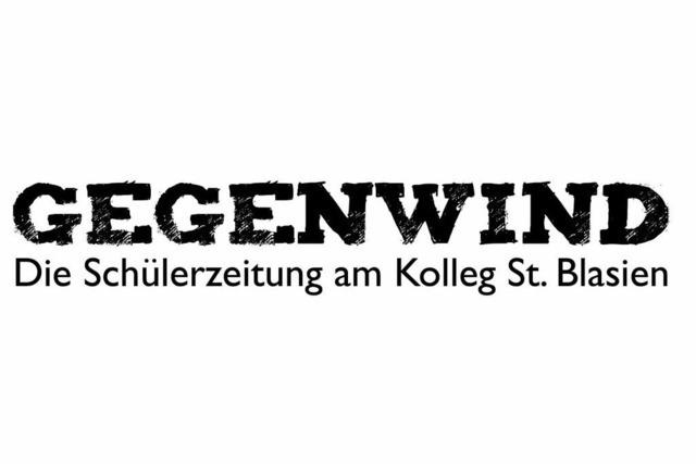 Gegenwind – die Schülerzeitung des Kollegs St. Blasien
