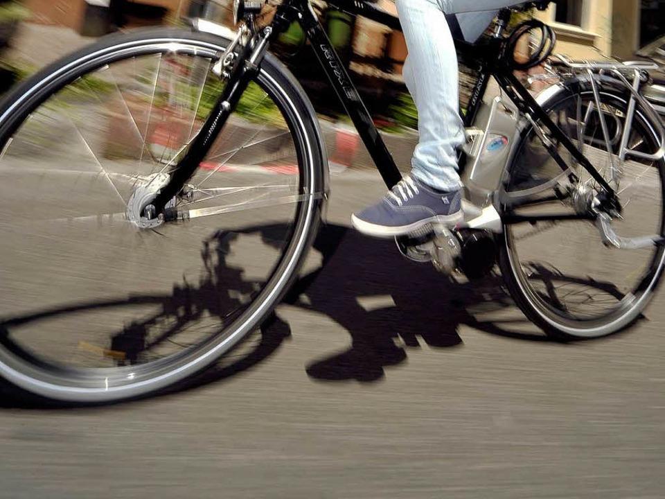 Mit dem Fahrrad zum Job.  | Foto: Thomas Kunz