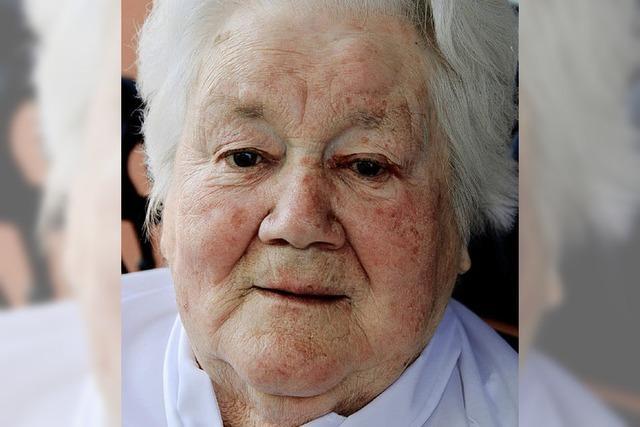 Luise Höfflin feiert ihren 85.