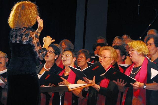 Auf eindrucksvolle Weise Freude am Singen vermittelt