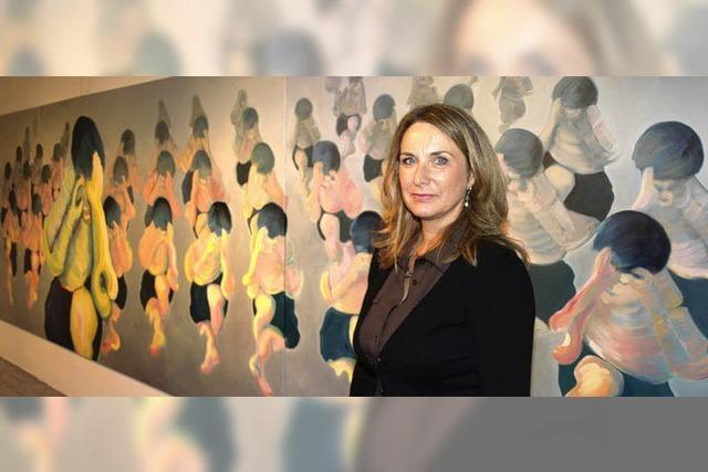 """Birgitt Fuchs zeigt beim Kunstforum ihre """"Formationen"""""""