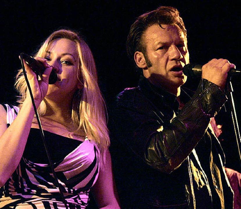 "Victoria und ""Elvis"" van der Helden  | Foto: fritz"