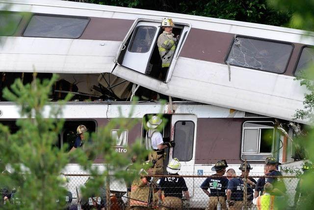 U-Bahn-Unfall in Washington – neun Tote