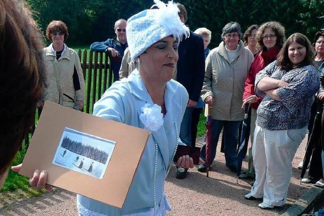 Führung in Titisee: Frau von Pösel neigt zum Schwärmen
