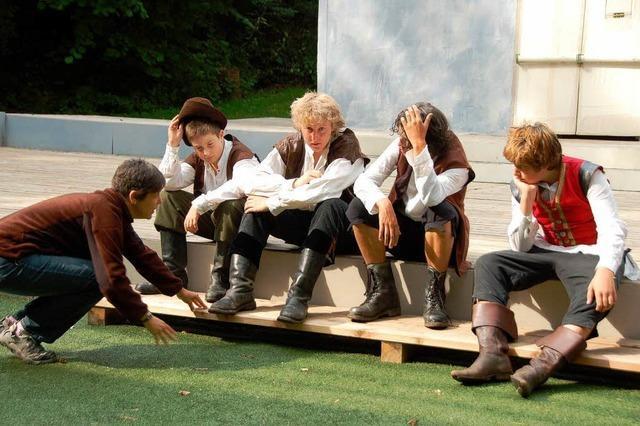 Theater im Steinbruch: Bill Bo schlägt sie alle