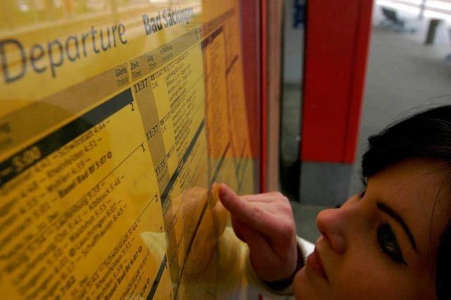 Lahr sammelt Unterschriften für mehr Züge