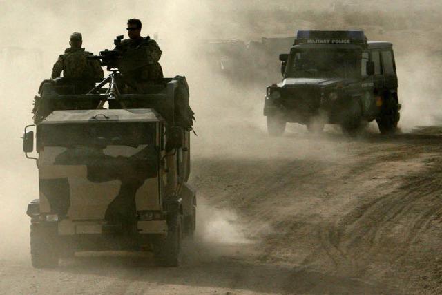 Drei deutsche Soldaten in Afghanistan tot