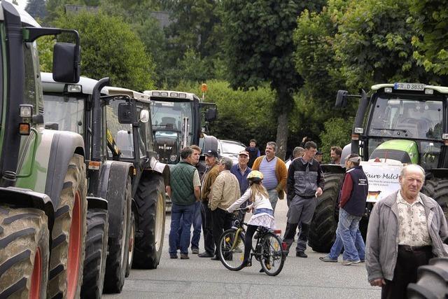 Bauern kämpfen um Existenz