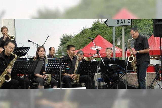 Straße gehört den Musikern