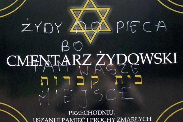 In Polen nehmen Attacken auf Juden zu