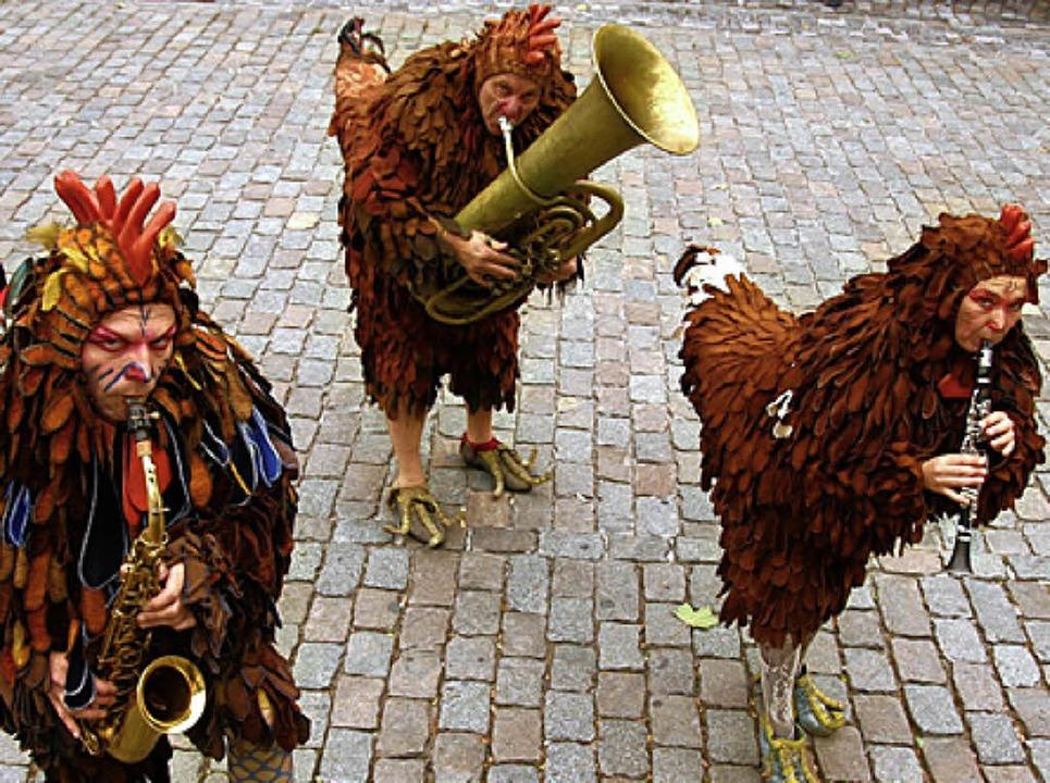 Bieten  Musik und Comedy: die Cock Tales   | Foto: Privat