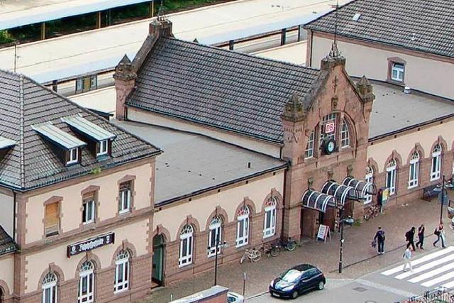 Der Bahnhof Lörrach heißt künftig Hauptbahnhof
