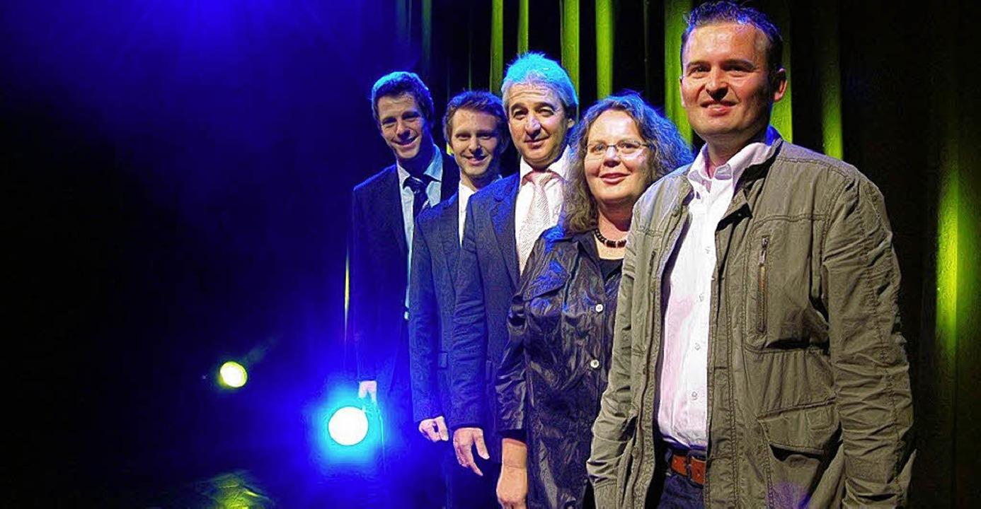 Spot an: Am 1. Juli beginnt der Abo-Ve...nd Jochen Frank Schmidt (von rechts).   | Foto: BZ