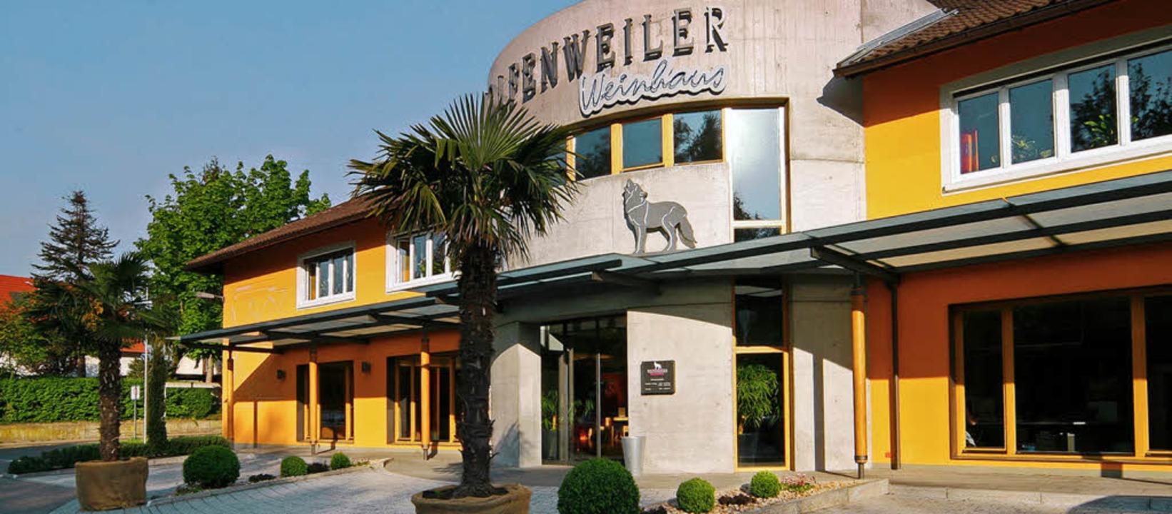 Bei der Winzergenossenschaft Wolfenweiler wird am Wochenende gefeiert.     Foto: WG