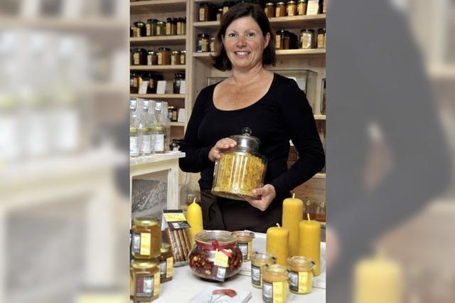 Honig-Galerie in der Fischerau: Betörend parfümiert