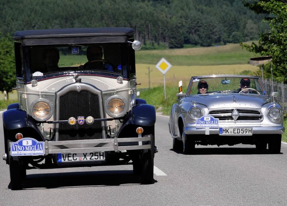 Automobile aus Zeiten, da der Windkana...olle spielte, kommen nach Offenburg.    | Foto: PR
