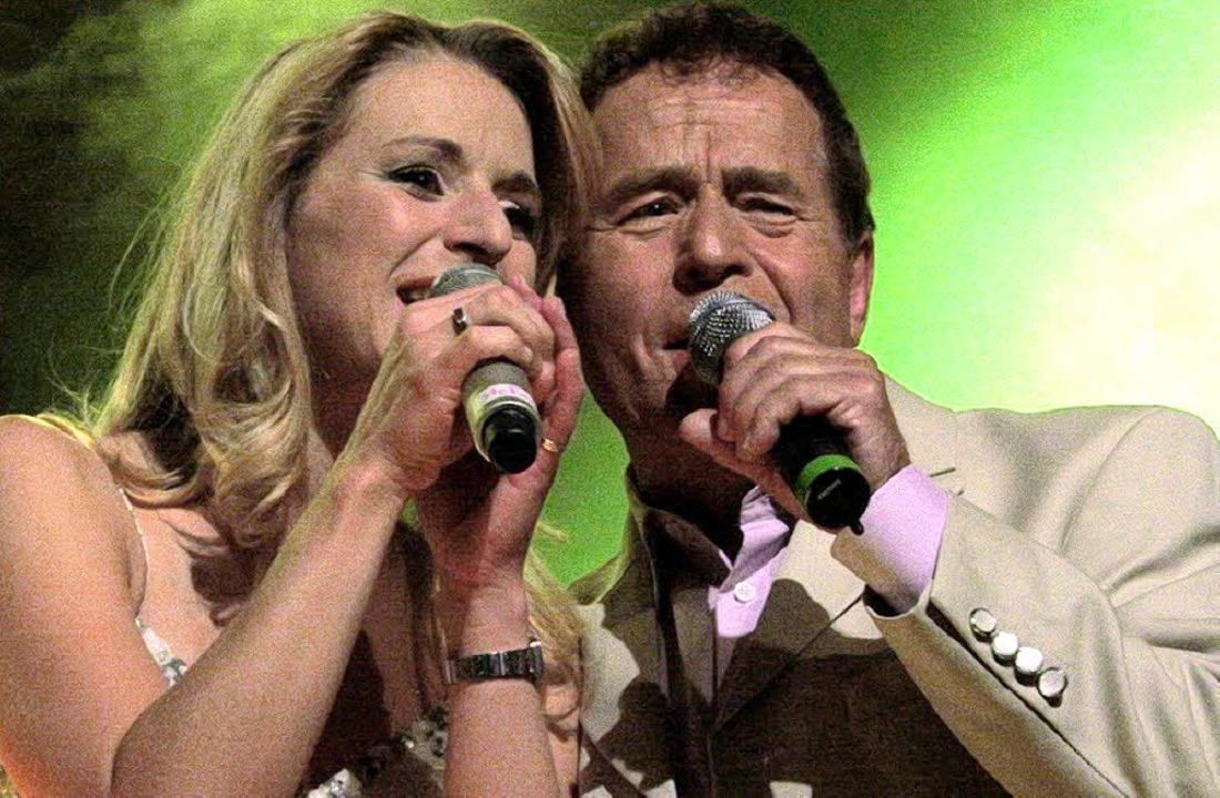 Überzeugendes Duo in Stadthalle: Stefa... gemeinsam mit ihrem Vater Eberhard.      Foto: Hans-Jürgen Hege