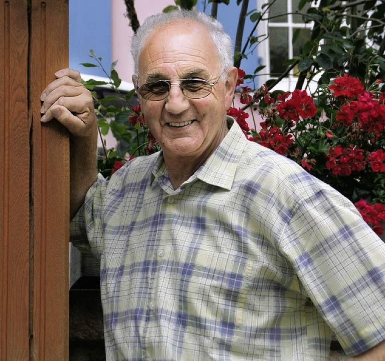 Freut sich jetzt auch auf den politischen Ruhestand: Herbert Andlauer    Foto: Sieberts