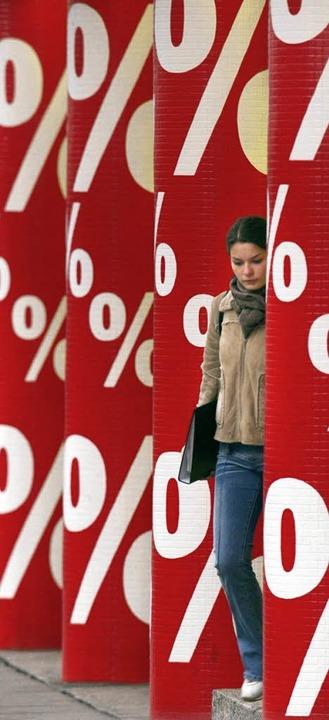 Prozente, Prozente – da kann man den Überblick verlieren.     Foto: dpa